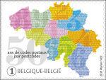 50 jaar postcode in België