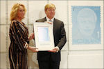 Postzegel koning Willem-Alexander