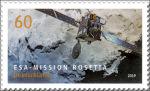 Rosetta-missie postzegel Duitsland