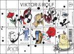 Viktor en Rolf postzegelvel