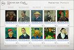 Portretten van Vincent van Gogh