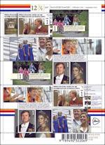 Willem-Alexander en Máxima 12,5 jaar getrouwd