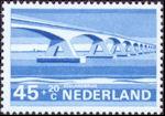 Zeelandbrug op postzegel