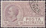 Italiaanse buizenpostzegel
